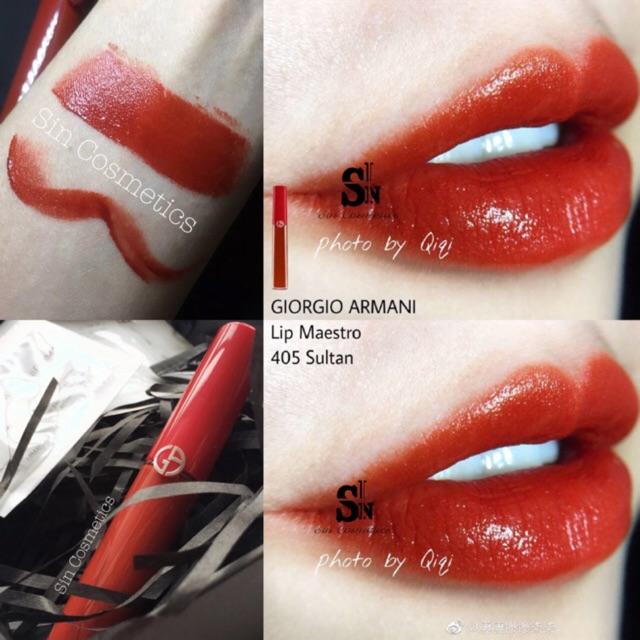 Son kem Giorgio Armani Lip Maestro - 2937045 , 470021744 , 322_470021744 , 730000 , Son-kem-Giorgio-Armani-Lip-Maestro-322_470021744 , shopee.vn , Son kem Giorgio Armani Lip Maestro