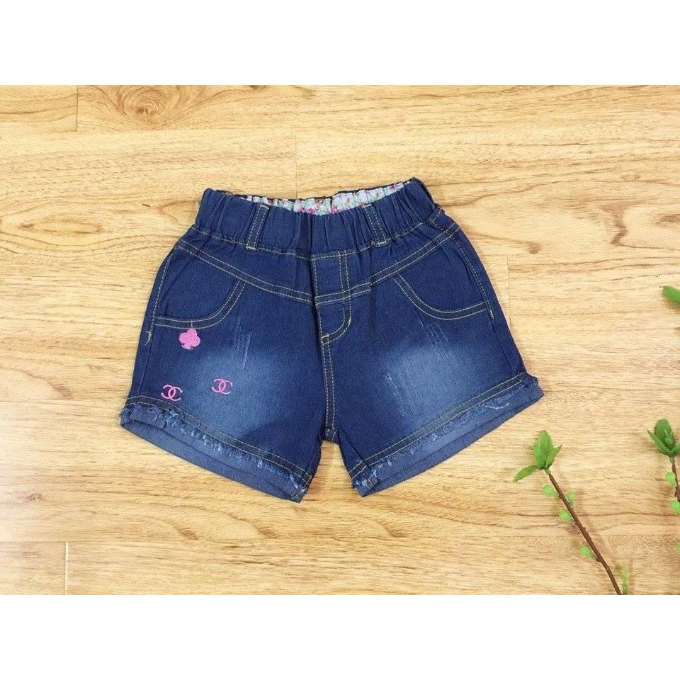 (24-32kg) Quần bé gái short jeans thêu Chanel size đại ( s9-13) - 2492402 , 322983241 , 322_322983241 , 100000 , 24-32kg-Quan-be-gai-short-jeans-theu-Chanel-size-dai-s9-13-322_322983241 , shopee.vn , (24-32kg) Quần bé gái short jeans thêu Chanel size đại ( s9-13)
