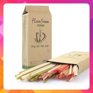 0,5kg Ống hút tinh bột gạo ăn được - Flour Straws (từ 100-120 thumbnail