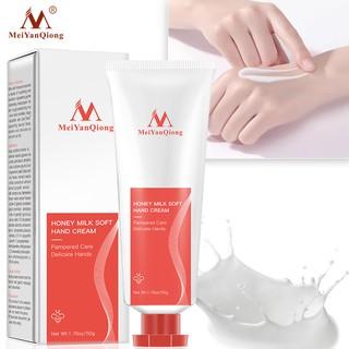 Kem dưỡng da tay MeiYanQiong chiết xuất từ sữa ong chúa dưỡng ẩm dưỡng trắng da 50g thumbnail