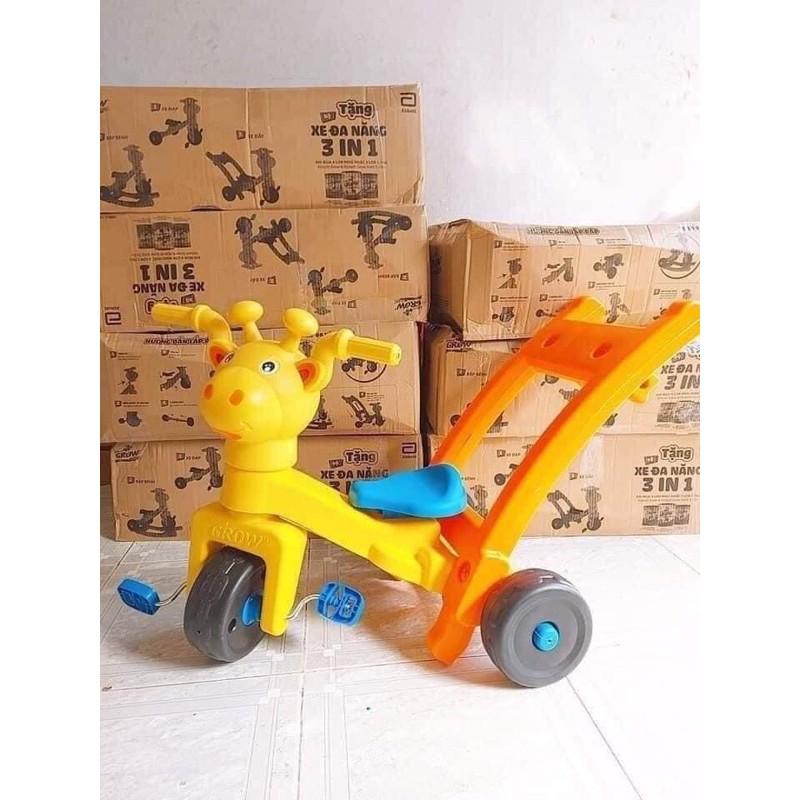 xe đa năng(3in1) xe đạp-xe đẩy-bập bênh