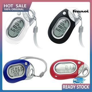 HHW_Portable Digital LCD Pedometer Outdoor Sports Walking Running Step Counter Meter thumbnail