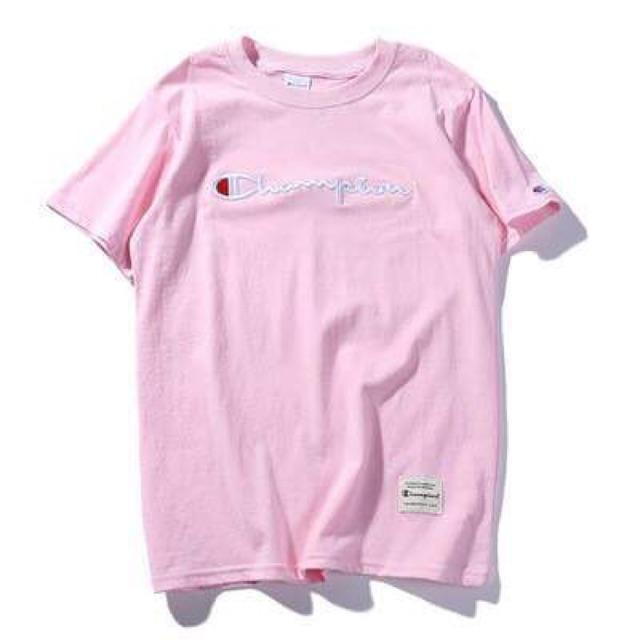 Áo champion màu hồng, chữ thêu size S - 2553042 , 953443632 , 322_953443632 , 240000 , Ao-champion-mau-hong-chu-theu-size-S-322_953443632 , shopee.vn , Áo champion màu hồng, chữ thêu size S