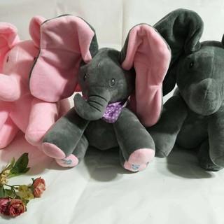 Đồ chơi con voi có nhạc cho bé 30cm–7007