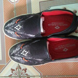 Giày lười Nam in hình