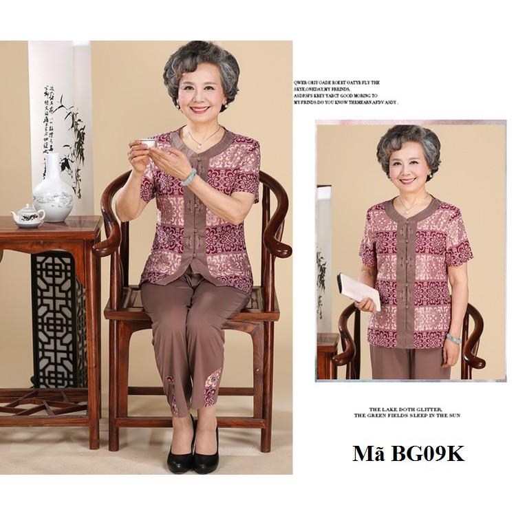Bộ đồ mặc nhà cho người già, người lớn tuổi BG04, BG09,BG09K,BG12
