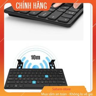 Bàn Phím Cơ Bluetooth Không Dây, Bàn Phím Bluetooth BOW HB191A Cho Ipad - Android - Los - Win thumbnail