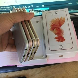 Điện thoại apple iphone 6s Quốc tế 16gb. Hàng chính hãng – máy cũ đẹp 98 – 99% ko vết xước. Bảo hành 12 tháng.