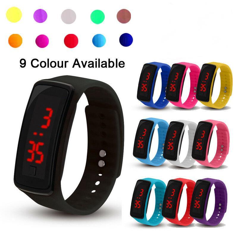 Đồng hồ điện tử thể thao cho bé trai và gái