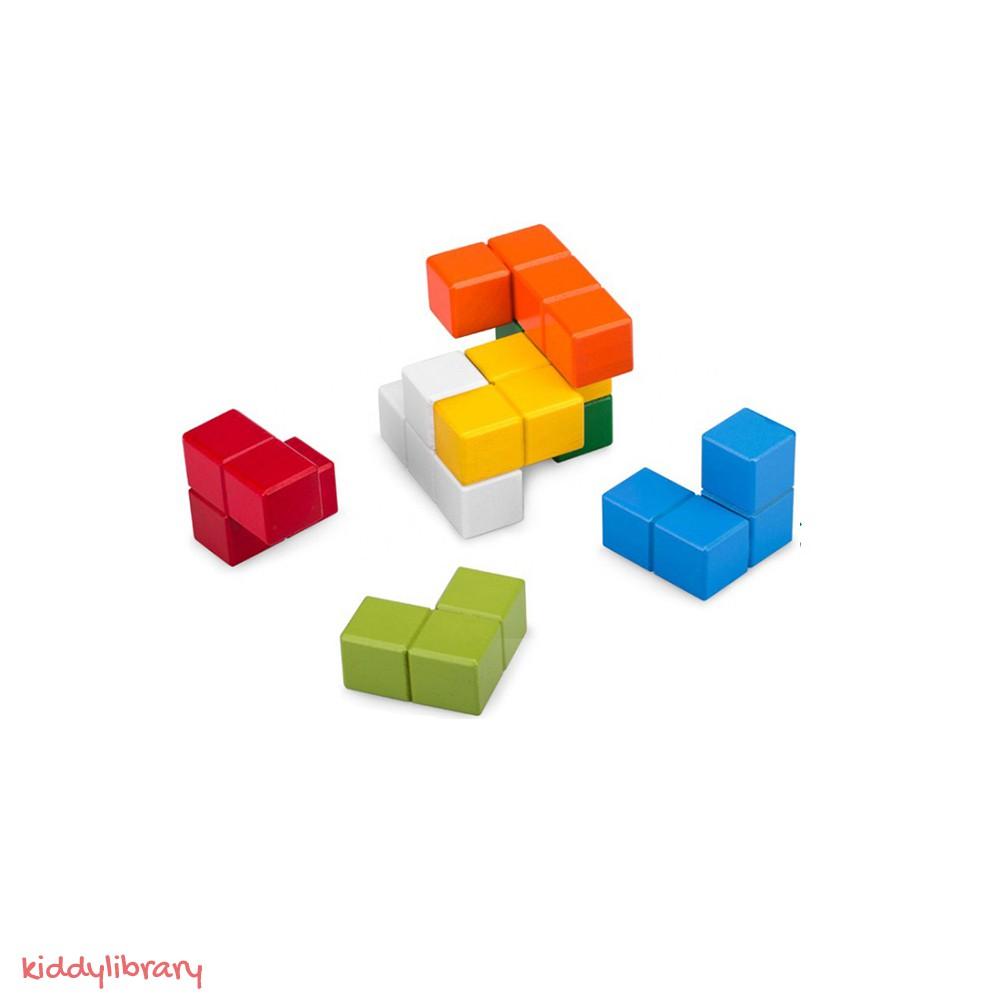 Đồ Chơi Rubik và Sách Hướng Dẫn Tiếng Anh