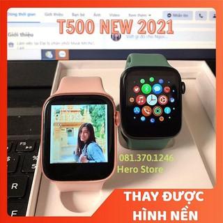 Đồng Hồ Thông Minh T500 Thay Hình Nền Đo nhịp tim, Chống nước IP68, Smart Watch T500