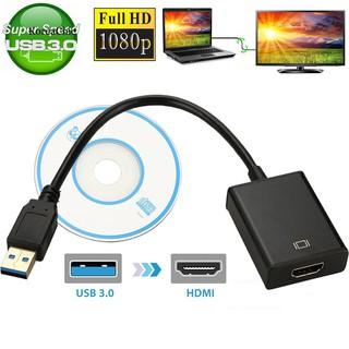 Cáp Chuyển USB 3.0 to HDMI có Audio. Vi Tính Quốc Duy