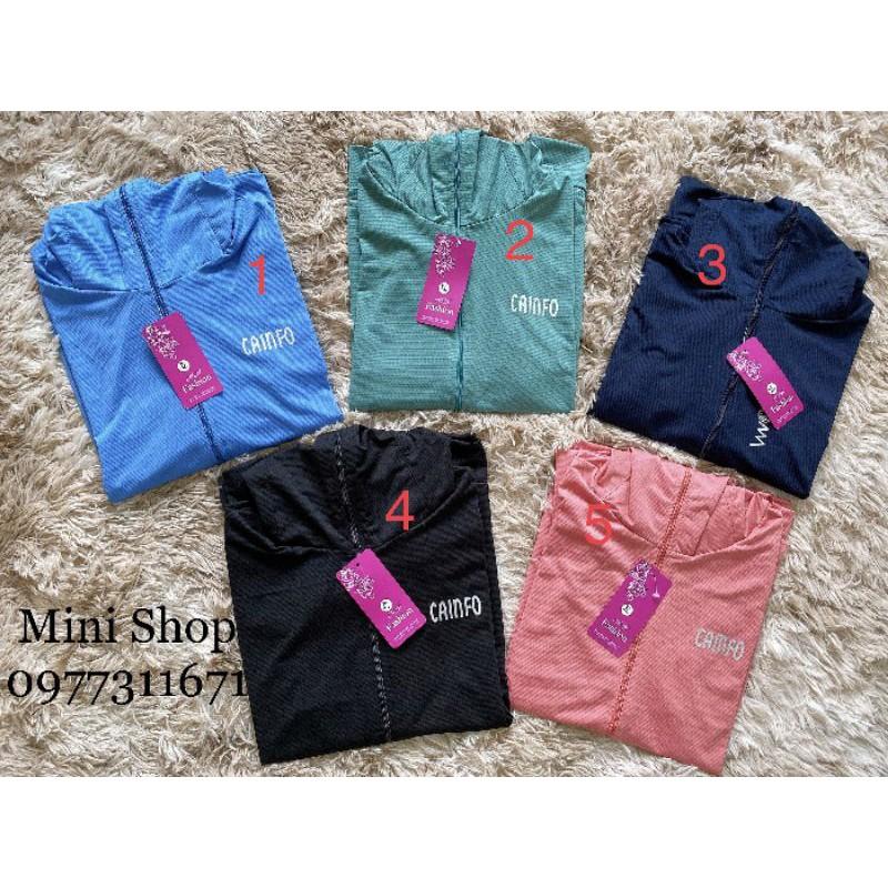 Áo chống nắng cotton loại rẻ(3 size:M,L,XL)