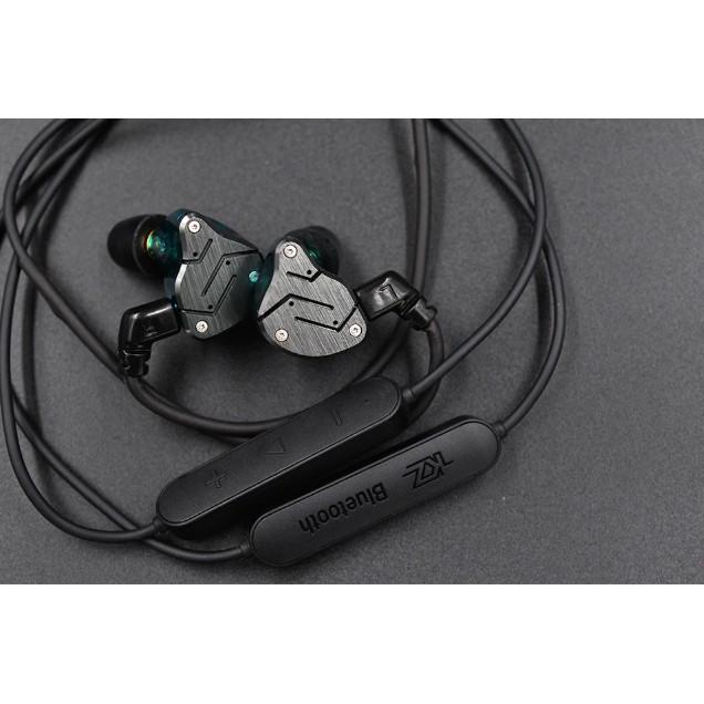 Dây bluetooth thế hệ mới dành cho tai nghe kz zsn,zsx,zs20pro,as12,as16,2 pin ,kháng nước,aptx