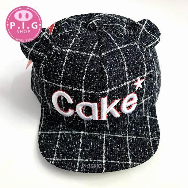[Mã FASKT4 giảm 10K đơn 50K] Nón lưỡi trai,nón kết,mũ nón CAKE cho bé trai/bé gái 1-2 tuổi