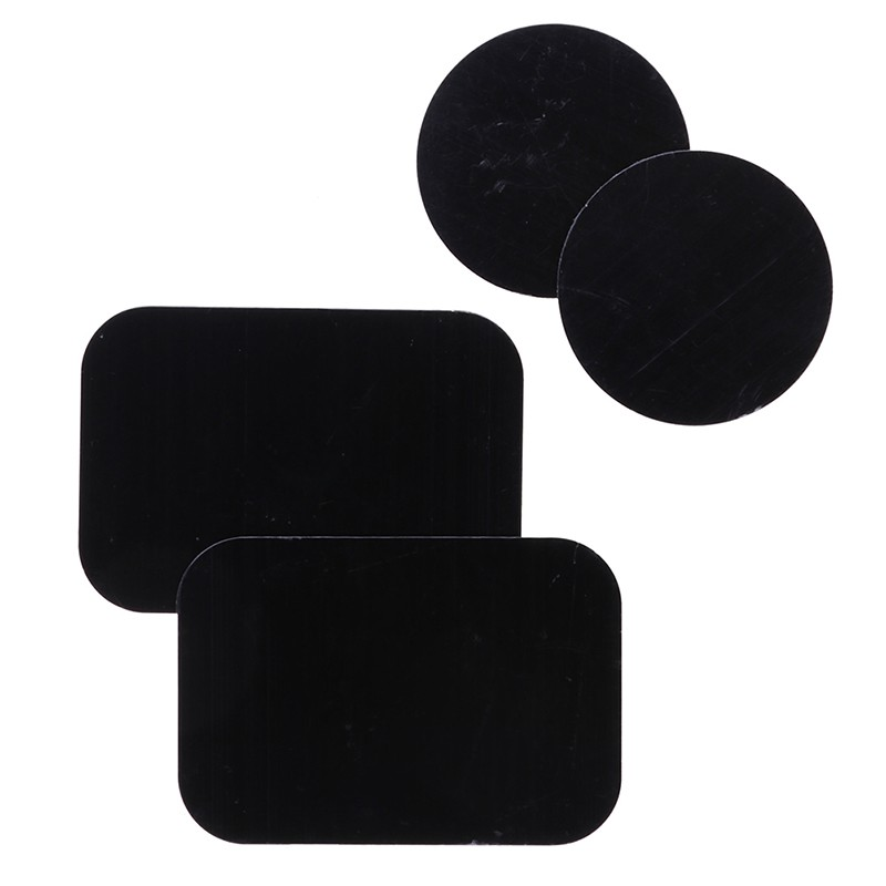 4Pcs metal plates adhesive sticker replace for car mount phone holder