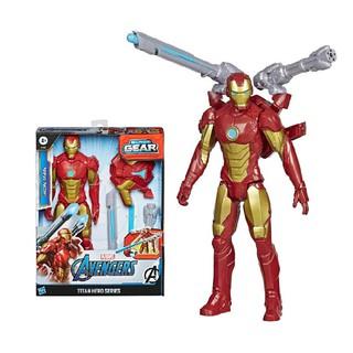 [Mã 1212TINI03 giảm 25% đơn 200k] Đồ chơi Avengers siêu anh hùng Titan và phụ kiện Iron Man E7380 thumbnail