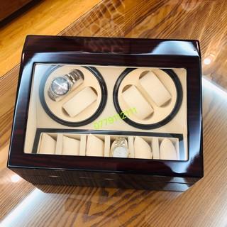 (SHIP LUÔN) hộp đựng đồng hồ cơ 4 xoay và 6 tĩnh thumbnail