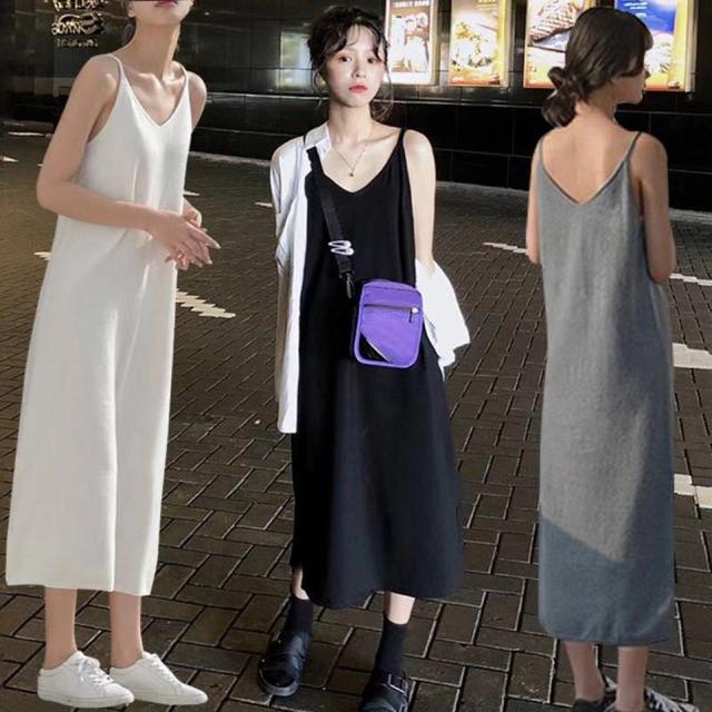 Váy xuông 2 dây sale sốc chỉ 89k khi mua từ 2 chiếc có kèm ảnh thật