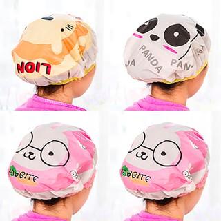 Mũ tắm, mũ trùm đầu khi tắm - Giao mầu ngẫu nhiên thumbnail