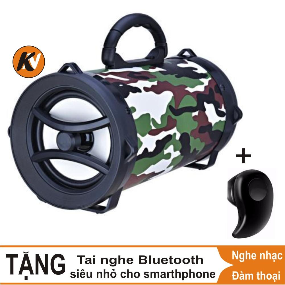 Combo Loa Bluetooth xách tay XC002 + tai nghe bluetooth siêu nhỏ