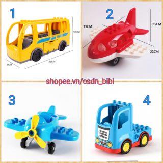 Gorock - các phương tiện giao thông tương thích lego duplo thumbnail