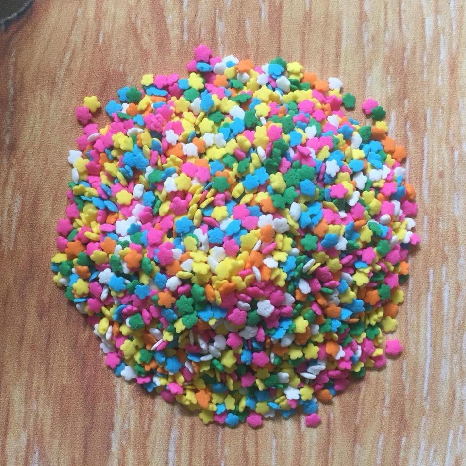 Bông đường hoa màu sắc 20 gam