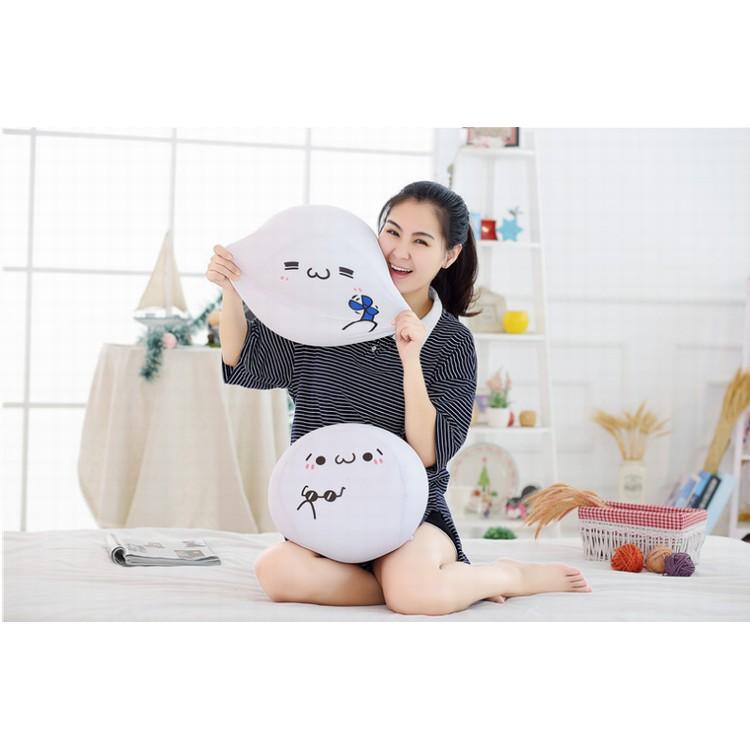 [order] P030 Gối ôm cute mềm mại mặt biểu cảm đáng yêu 20cm