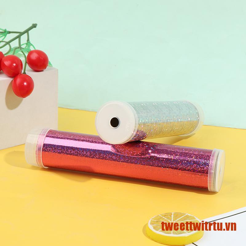 【TrTu】1 Set DIY Colored Rotating Kaleidoscope Kits Science Experiment Educatio