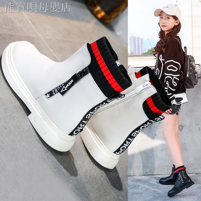 Giày Bốt Cổ Cao Thời Trang Thu Đông 2019 Cho Bé