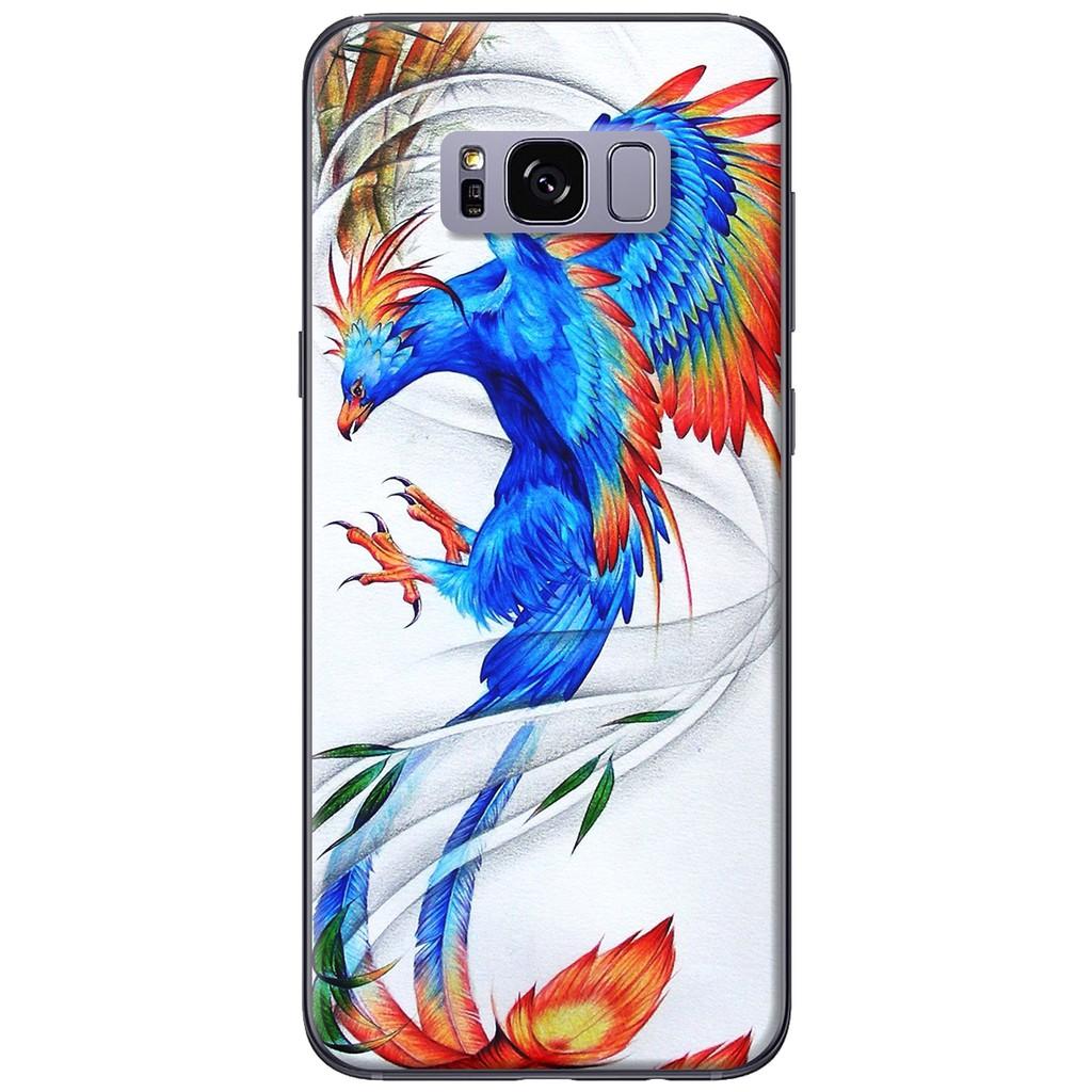 Ốp lưng Samsung S8/S8 plus Phượng hoàng xanh