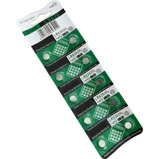 1 Vỉ 10 viên pin AG4 - LR626- 377A đồng hồ đeo tay nam nữ TISSELLY loại cúc áo giá rẻ thay pin đồng hồ 3 kim thumbnail
