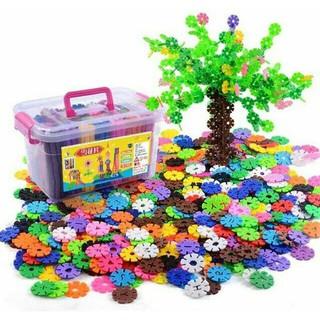 Sale [N6041] Bộ đồ chơi xếp hình hoa tuyết sáng tạo cho bé ZE89 Loại Tốt