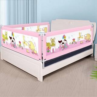 [RẺ VÔ ĐỊCH]Thanh chắn giường cho bé 1M6, 1M8, 2M, 2M2 Aachmann CB-1010 trượt lên xuống cao 82 cm giá bán 1 thanh thumbnail