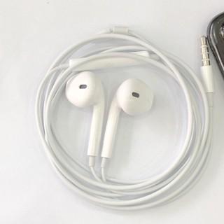 Tai nghe chân tròn 3,5mm Ip50, Jack tròn tương thích Iphone, samsung, oppo Bass mạnh, có mic nghe gọi đàm thoại  KLH
