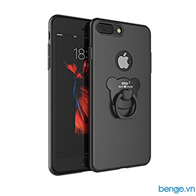 Ốp lưng iPhone 7 Plus AIQAA nhựa mỏng cao cấp