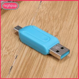 Đầu đọc thẻ nhớ USB / Micro unihappy Mini TF / SD cho điện thoại thông minh