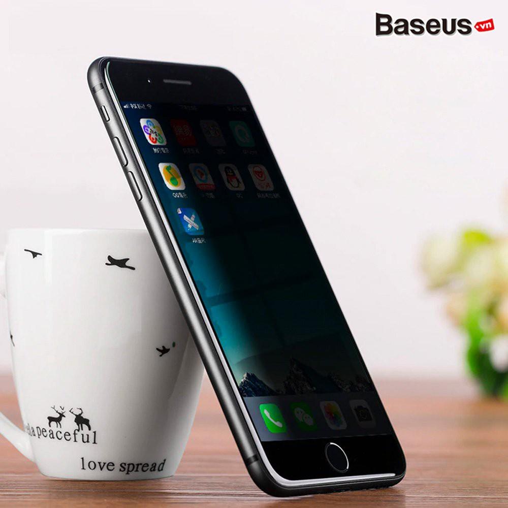 [SALE SẬP SÀN] Kính cường lực iphone 6/7/8/6Plus/7Plus/8Plus/X/Xsmax chống nhìn trộm, chống bám vân