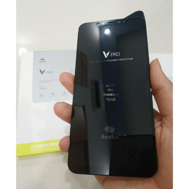 Cường lực full màn Benks V Pro cho Xiaomi Mi8 và Mi8SE