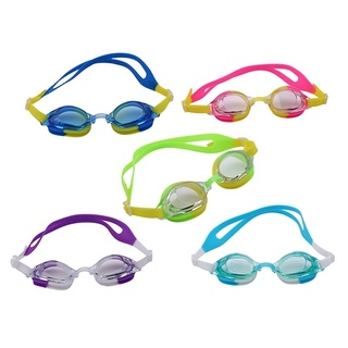 Summer swimming Children's Silicone Colorful Adjustable Anti-Fog Waterproof UV Protection Swimming Glasses with Boxes