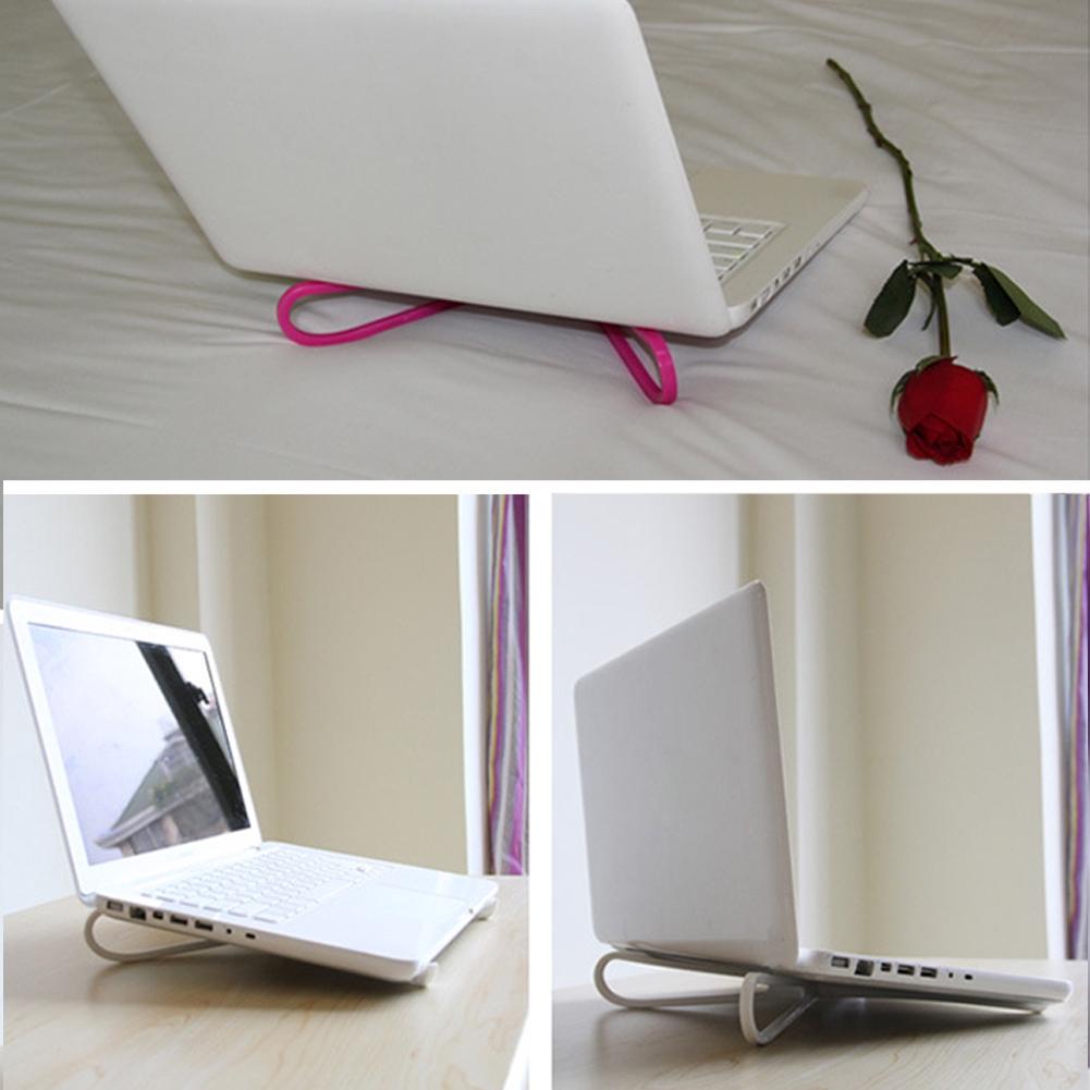 2X Travel Laptop Cooling Bracket Notebook Adjustable Cross Cooler Pad Stands Giá chỉ 25.000₫