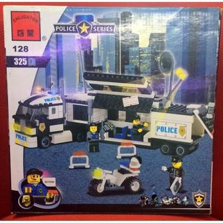 Đồ Chơi Lắp Ráp Enlighten Police Series 128 325 mãnh ghép
