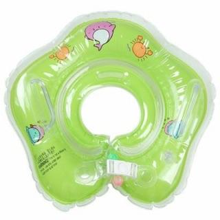Phao bơi nhỏ đỡ cổ cho bé khi tắm chậu và bơi