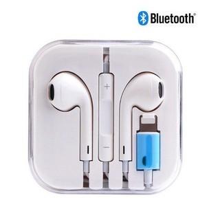 [Mã 2404EL10K giảm 10K đơn 20K] Tai nghe IPhone zin siu giấy chân dẹp tự kết nối bluetooth_kho buôn