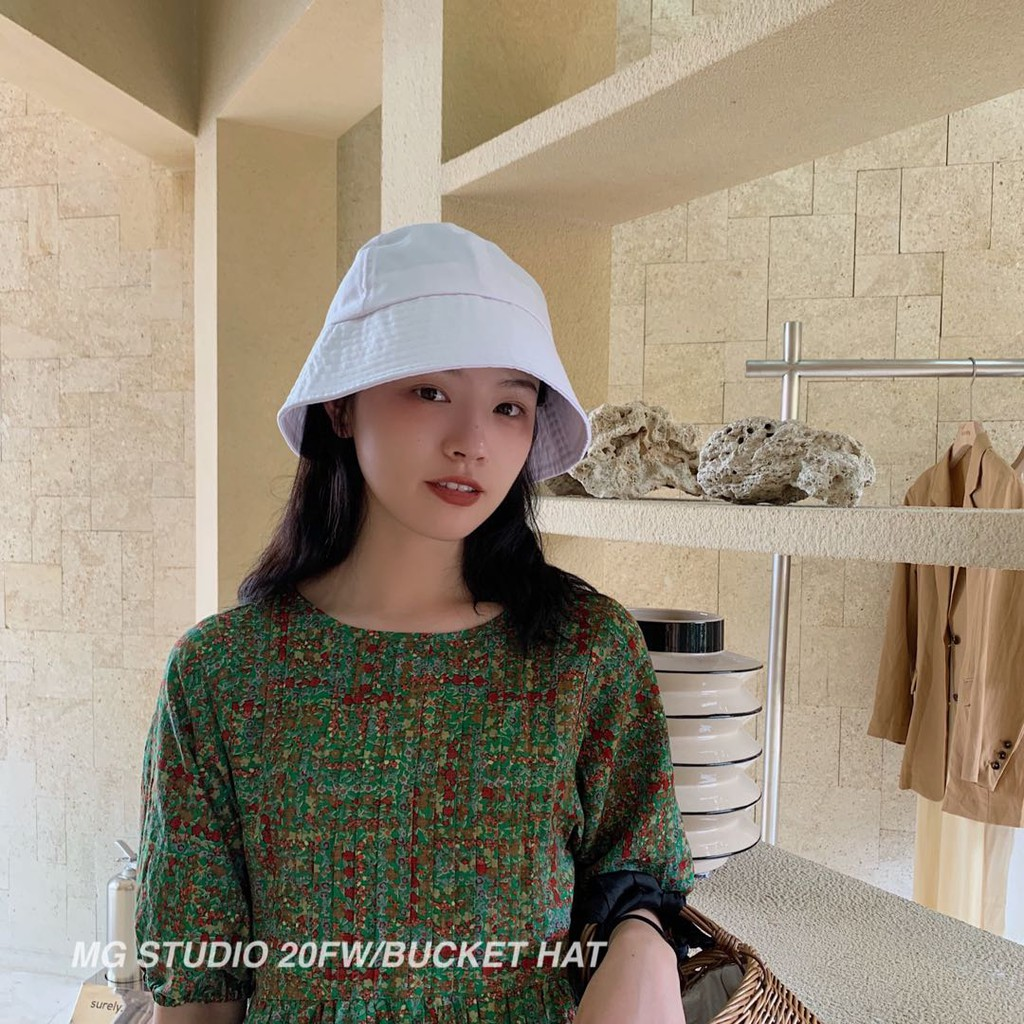 MG STUDIO/Trendy dome bucket hat #3
