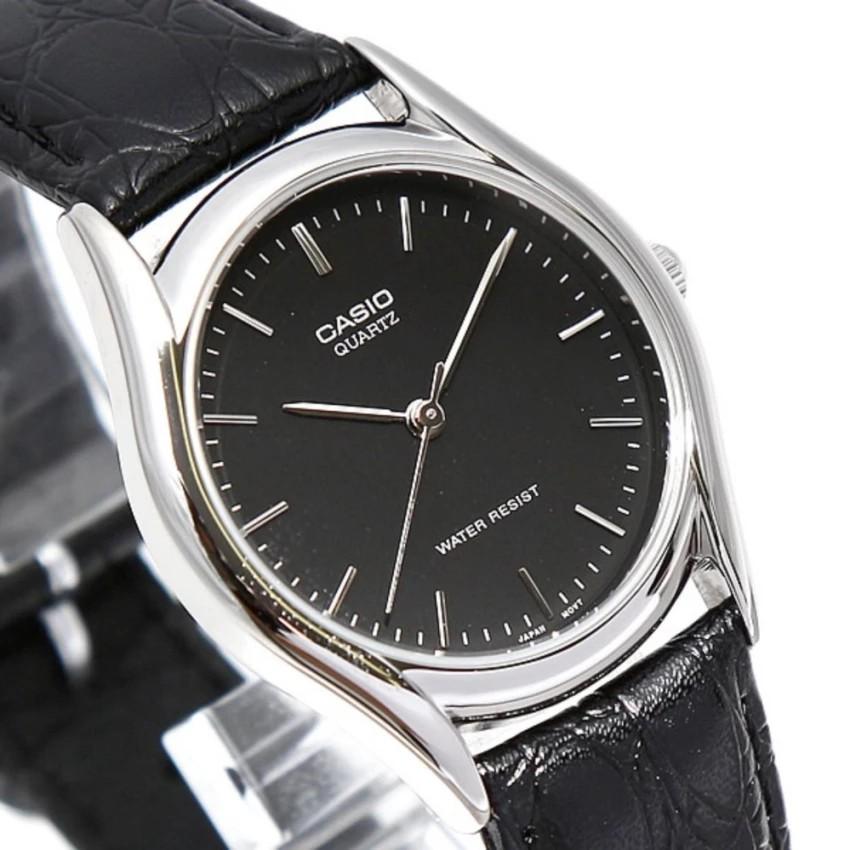 Đồng hồ nam dây da Casio chính hãng Anh Khuê MTP-1094E-1ADF