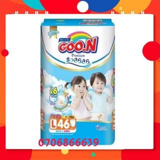 [Cần Thơ] Tã quần dán GOON SLIM Premium ( mẫu mới) M56 L46 XL42 XXL36 XXXL26 thumbnail