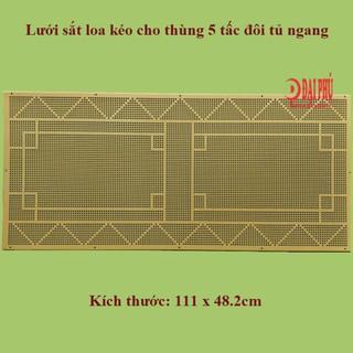 Lưới sắt Loa kéo 5 tấc đôi loa tủ ngang kèm theo ốc lục giác