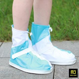 Ủng Đi Mưa - Bọc Giày Đi Mưa Cao Cấp Màu Sắc Nổi Bật Với Chất Liệu Nhựa PVC 2 Lớp Cổ Ngắn thumbnail