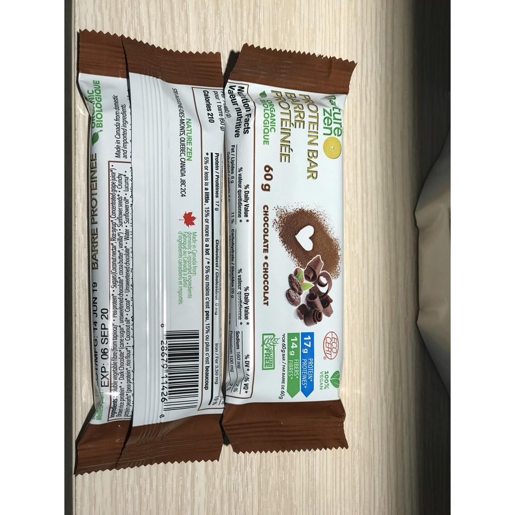 Bánh Protein hữu cơ Nature Zen - Chocolate - 60gr - 14911074 , 2776843004 , 322_2776843004 , 110000 , Banh-Protein-huu-co-Nature-Zen-Chocolate-60gr-322_2776843004 , shopee.vn , Bánh Protein hữu cơ Nature Zen - Chocolate - 60gr
